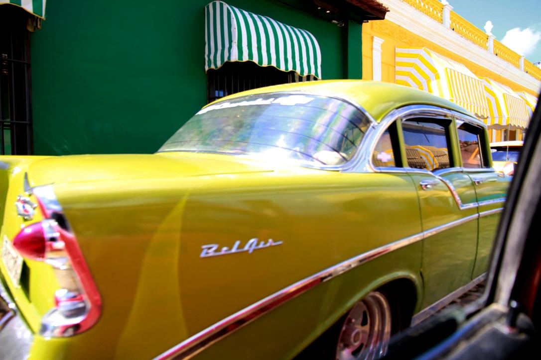 coche antiguo en Trinidad Cuba