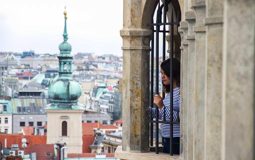 vista desde un edificio de la plaza vieja