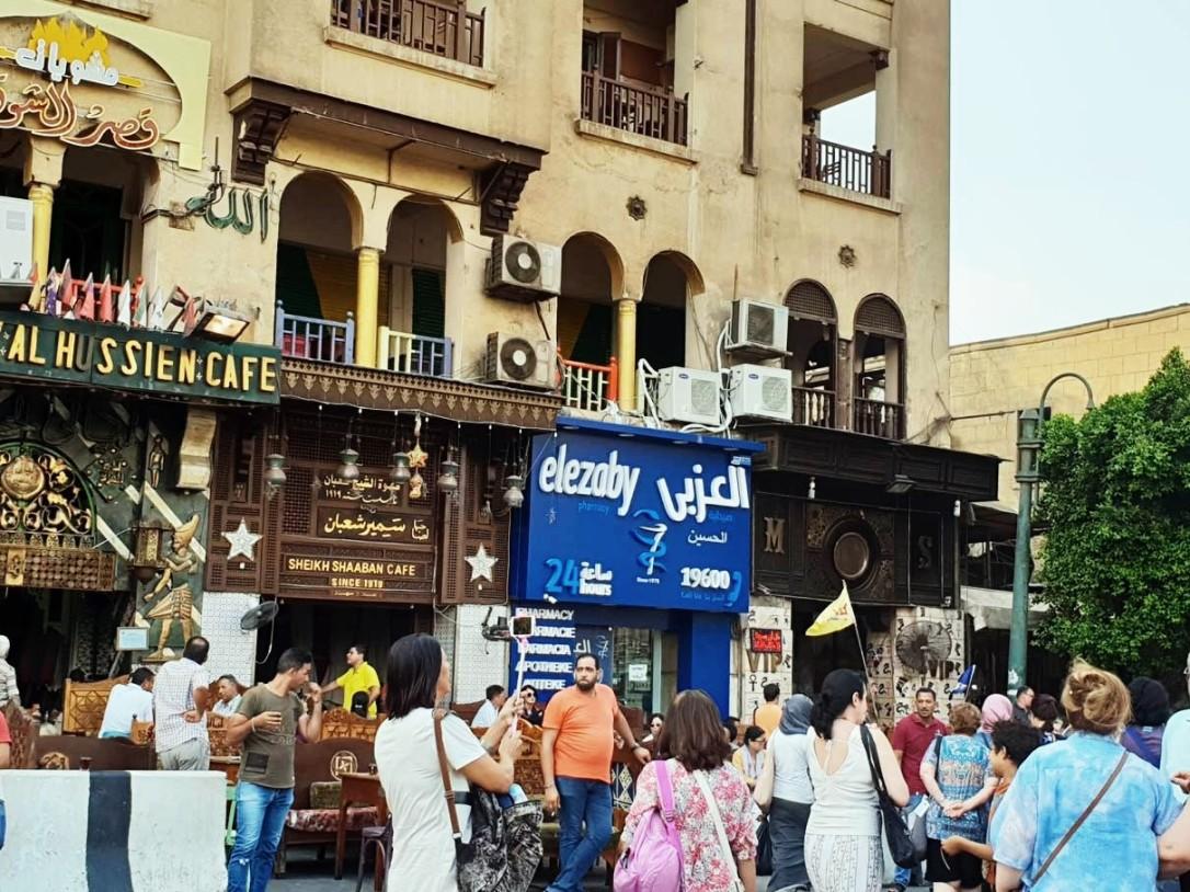Bazar en el Cairo Egipto