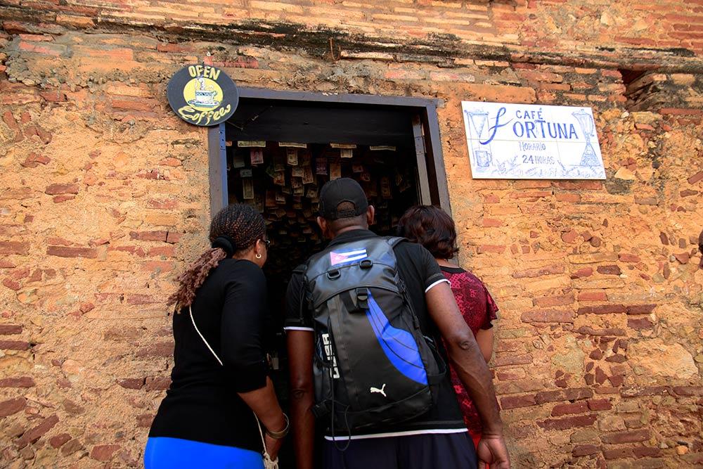 cafe la fortuna en Trinidad