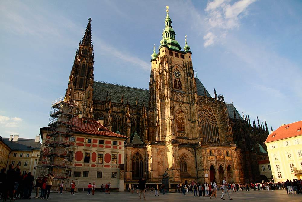 excursion a la Catedral de san vito en Praga