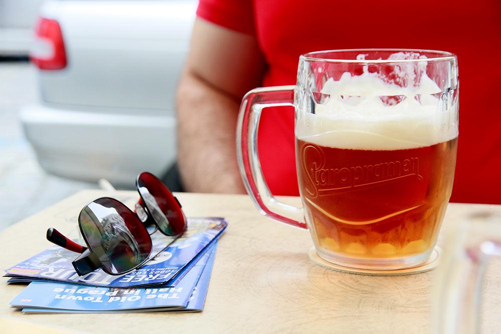 la cerveza de praga es muy buena
