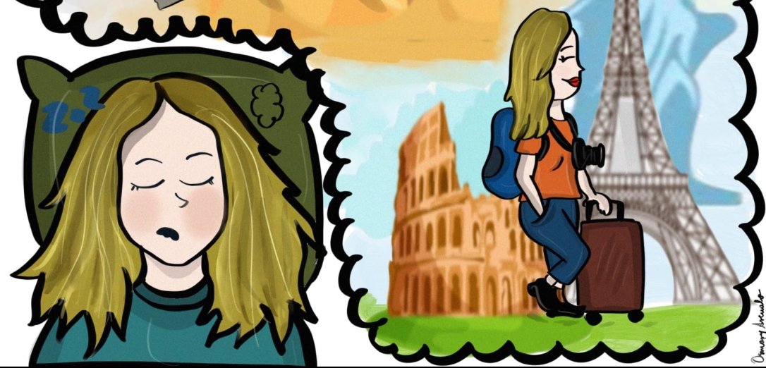 Dibujos Viajes Europa