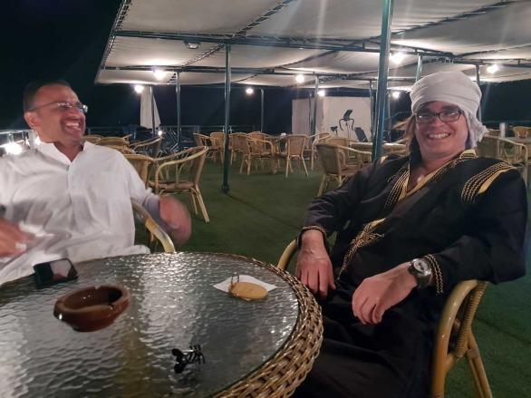 turismo en Egipto el turbante