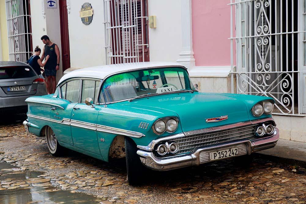 Coche antiguo trinidad Cuba