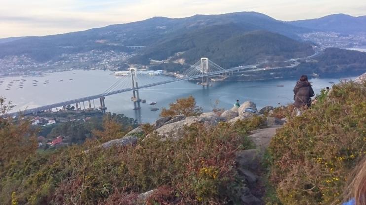 foto del puente de Rande de Vigo