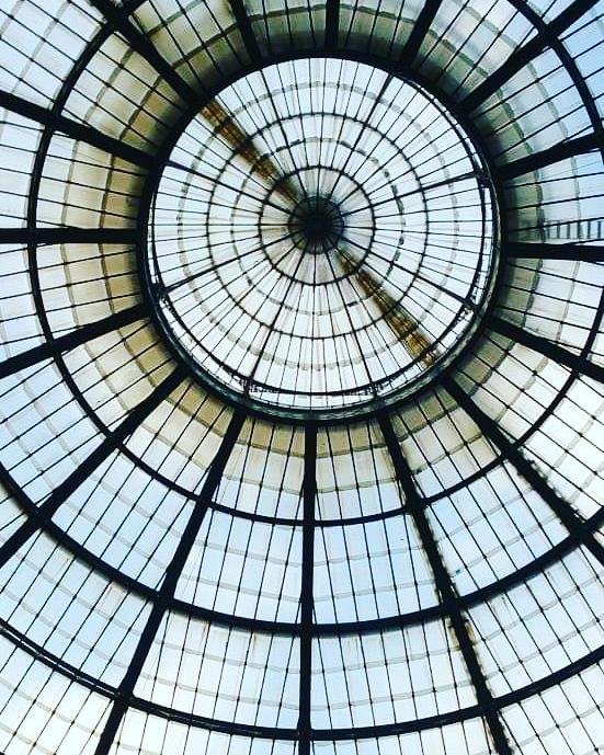 techos de cristal galerias de milan