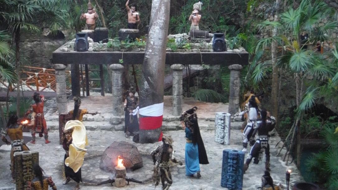 Ritual del maiz ceremonia pueblo maya