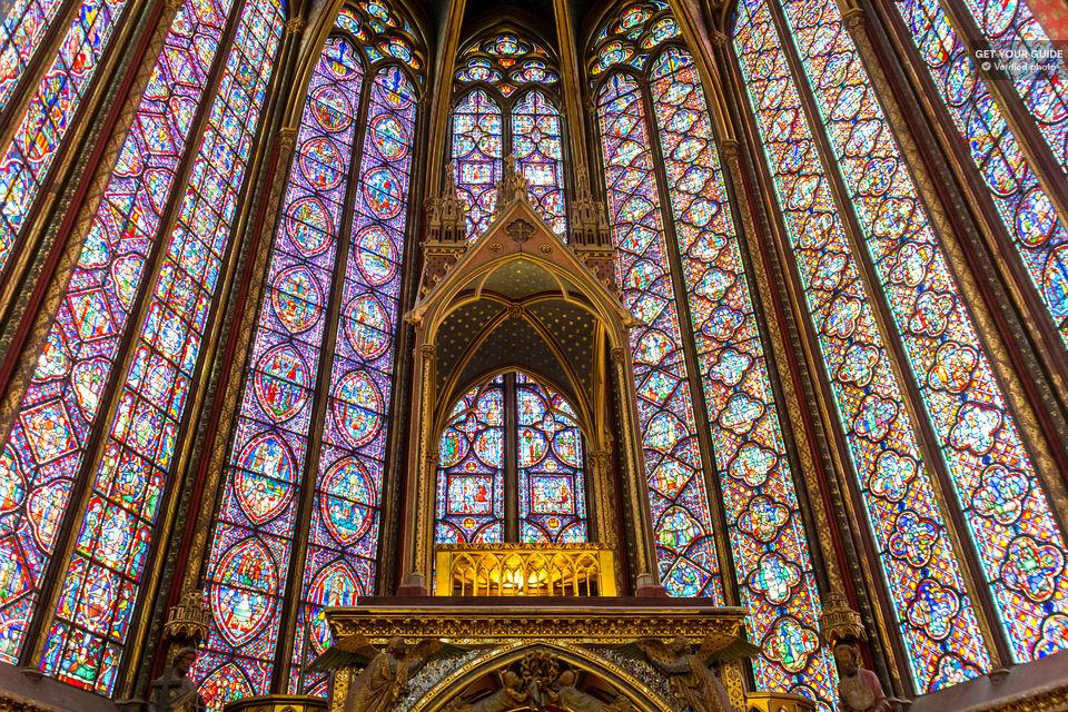 vitrales de la sainte chapelle