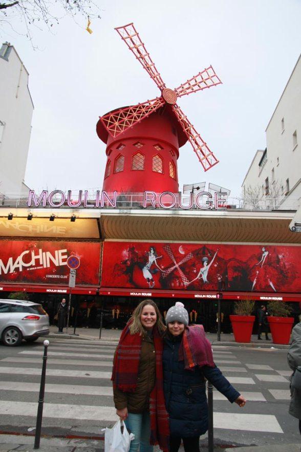 Moulin Rouge en Montmartre