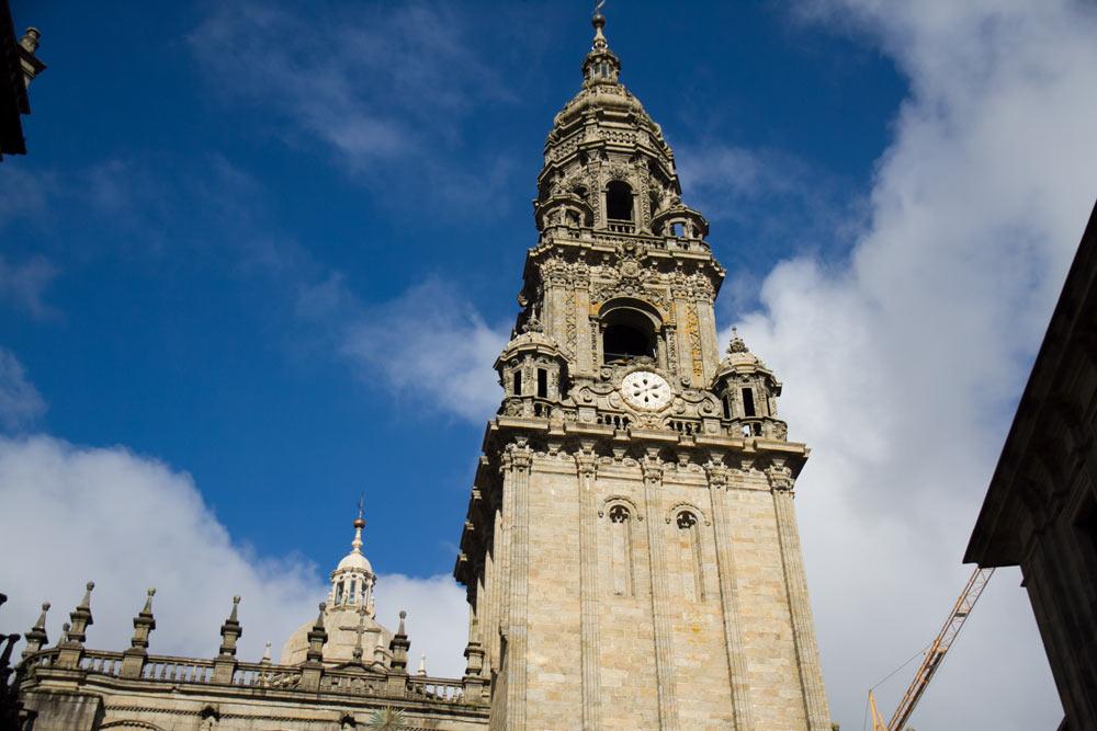 Torre del reloj Catedral de Santiago
