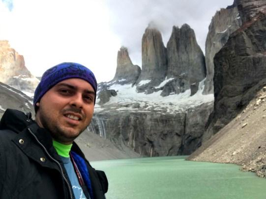 En Torres del Paine, Chile.