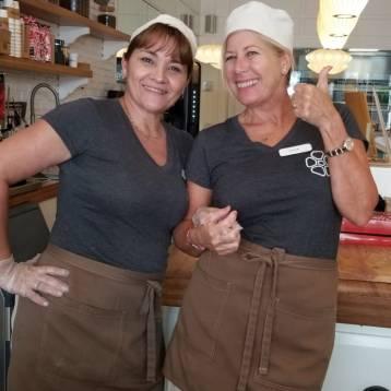 Las chicas del Rosetta en Miami Beach.